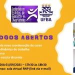 proposta cartaz Diálogos Abertos
